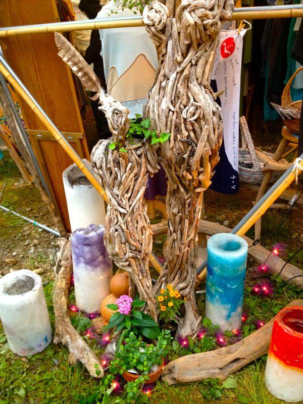 流木のオブジェ