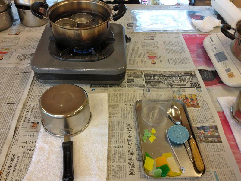 キャンドル作り3