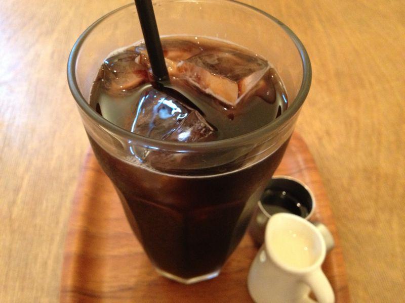 ノンカフェインアイスコーヒー