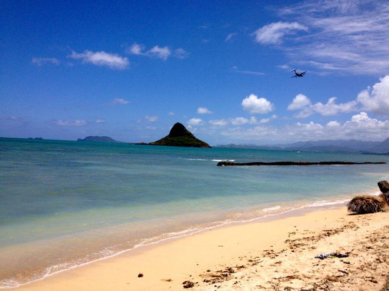 青いビーチ!