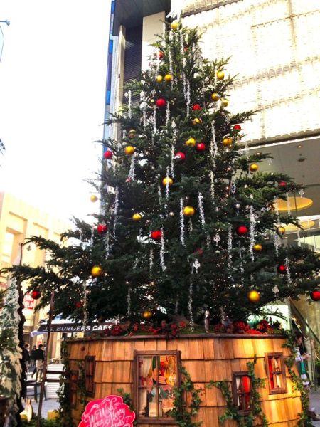渋谷のツリー